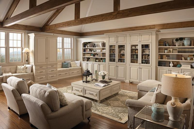 67 Gorgeous Family Room Interior Designs-8
