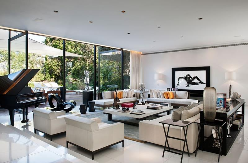 68 Interior Designs For Grand Living Rooms-16