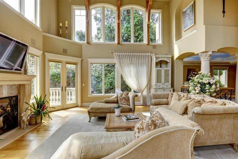 68 Interior Designs For Grand Living Rooms-47