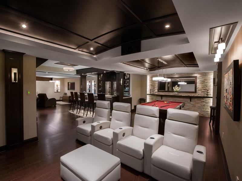70 Awesome Man Caves In Finished Basements And Elsewhere-10