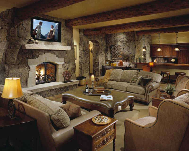 70 Awesome Man Caves In Finished Basements And Elsewhere-15