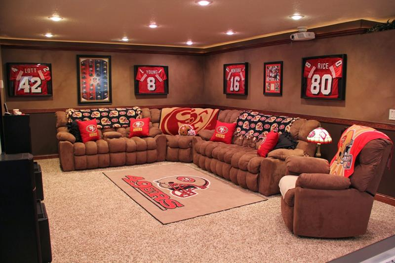 70 Awesome Man Caves In Finished Basements And Elsewhere-18