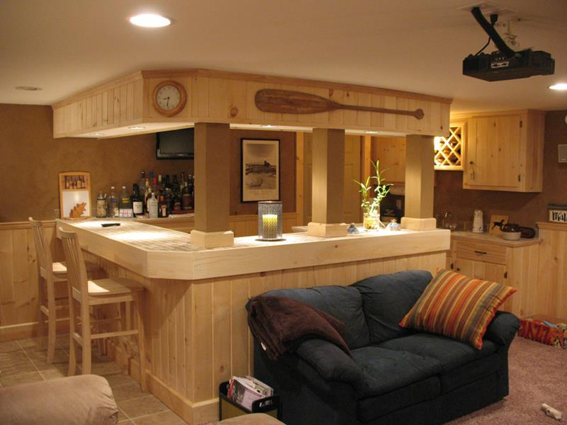 70 Awesome Man Caves In Finished Basements And Elsewhere-20