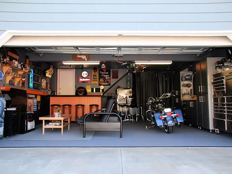 70 Awesome Man Caves In Finished Basements And Elsewhere-25