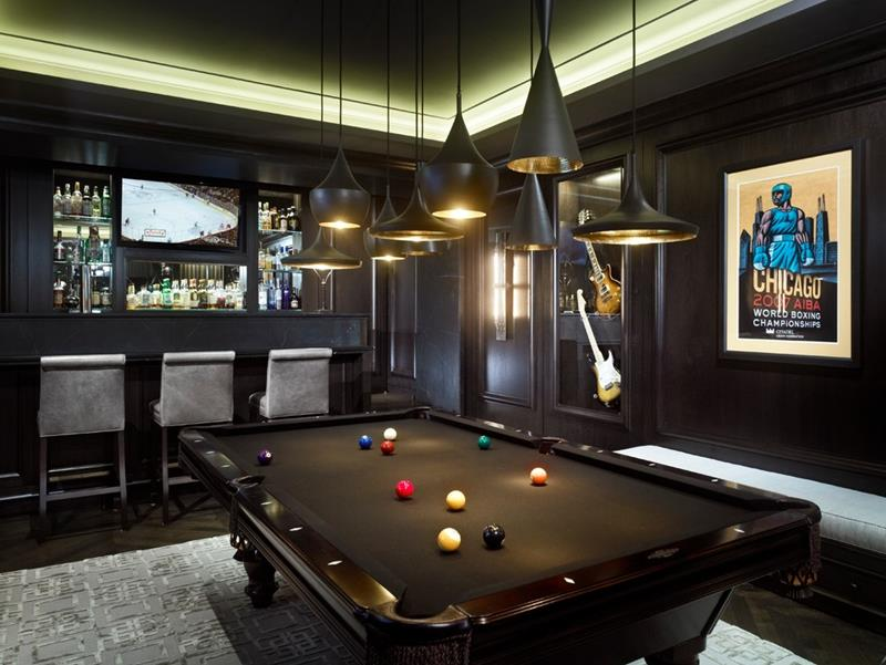 70 Awesome Man Caves In Finished Basements And Elsewhere-27