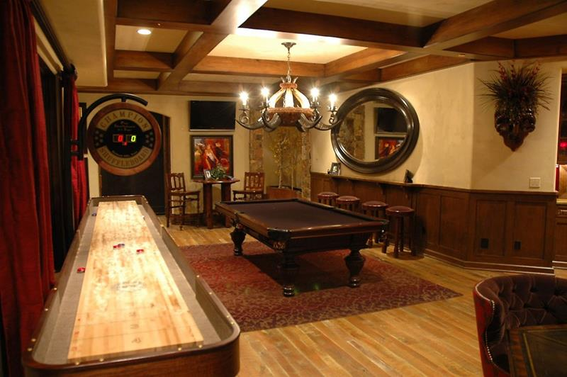 70 Awesome Man Caves In Finished Basements And Elsewhere-31