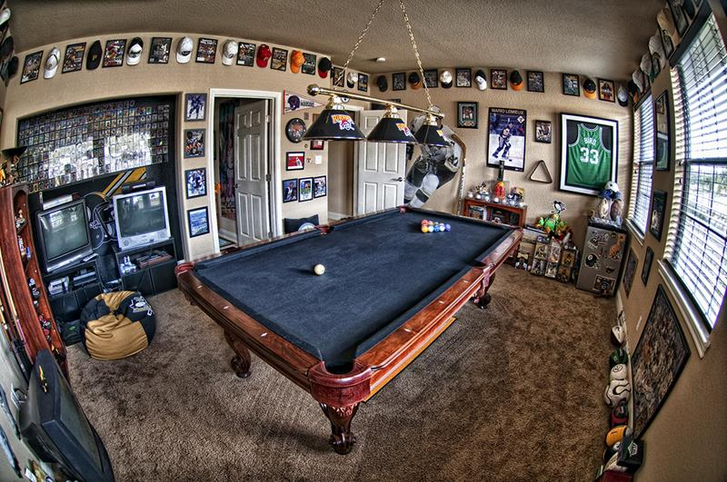 70 Awesome Man Caves In Finished Basements And Elsewhere-33