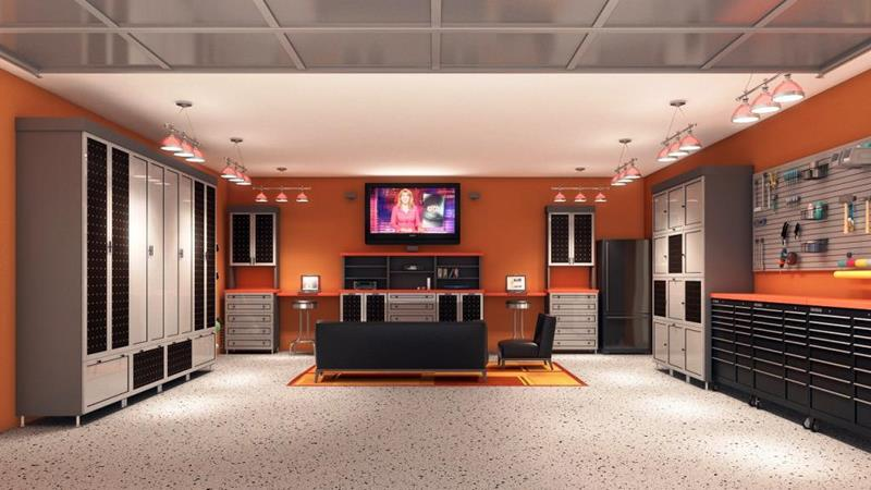70 Awesome Man Caves In Finished Basements And Elsewhere-36