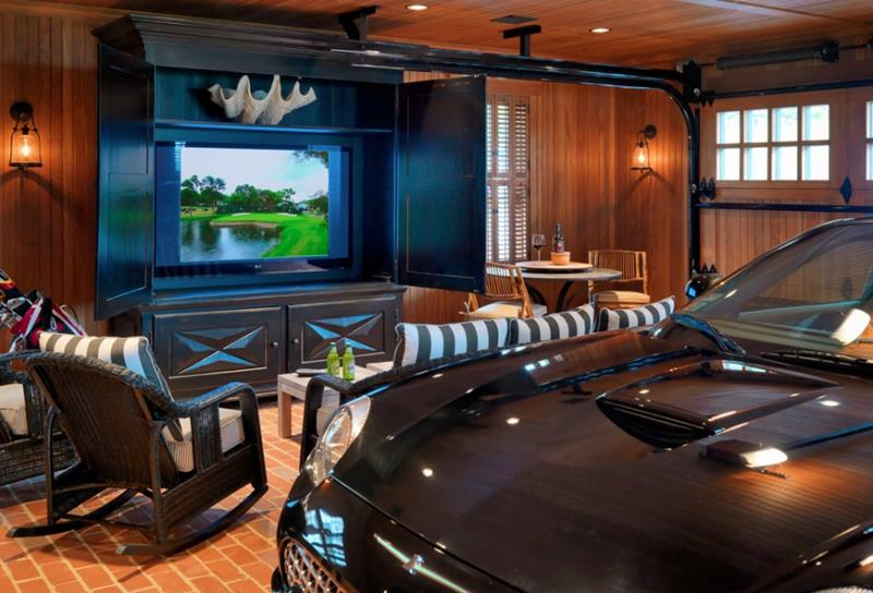 70 Awesome Man Caves In Finished Basements And Elsewhere-37