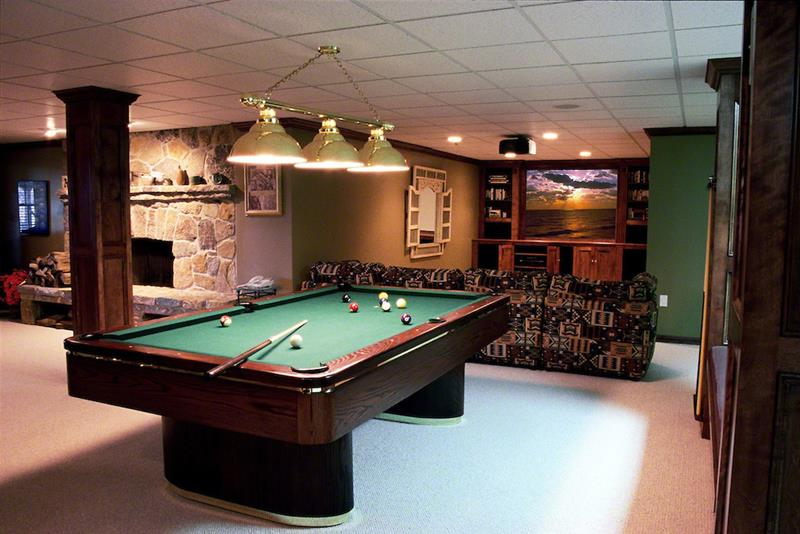 70 Awesome Man Caves In Finished Basements And Elsewhere-41