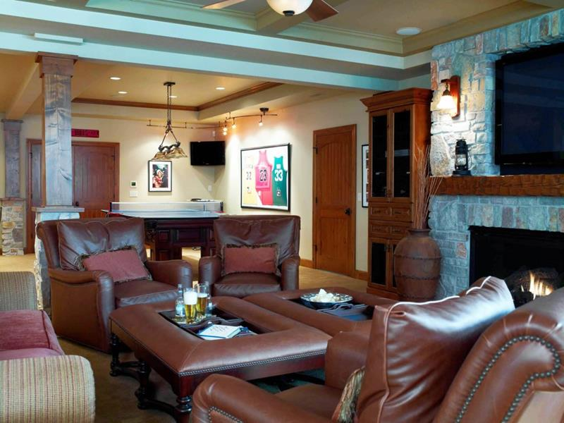 70 Awesome Man Caves In Finished Basements And Elsewhere-48