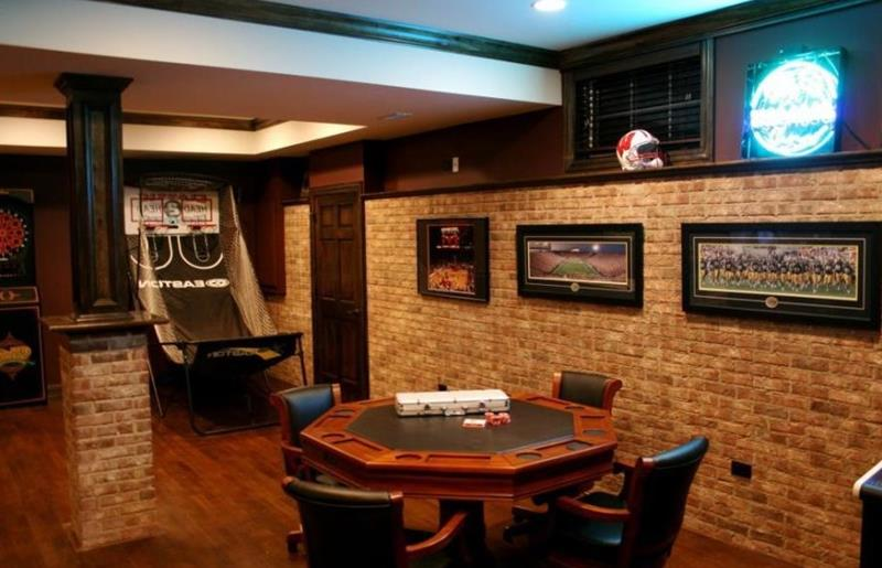 70 Awesome Man Caves In Finished Basements And Elsewhere-49