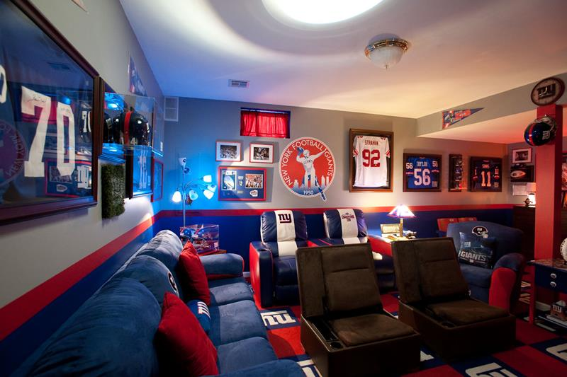 70 Awesome Man Caves In Finished Basements And Elsewhere-5
