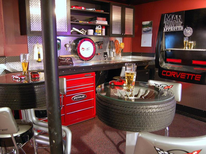 70 Awesome Man Caves In Finished Basements And Elsewhere-50