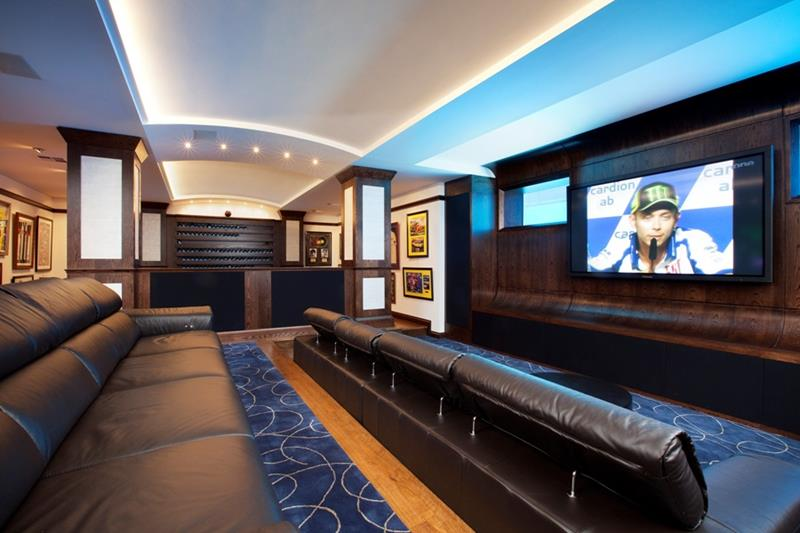 70 Awesome Man Caves In Finished Basements And Elsewhere-51