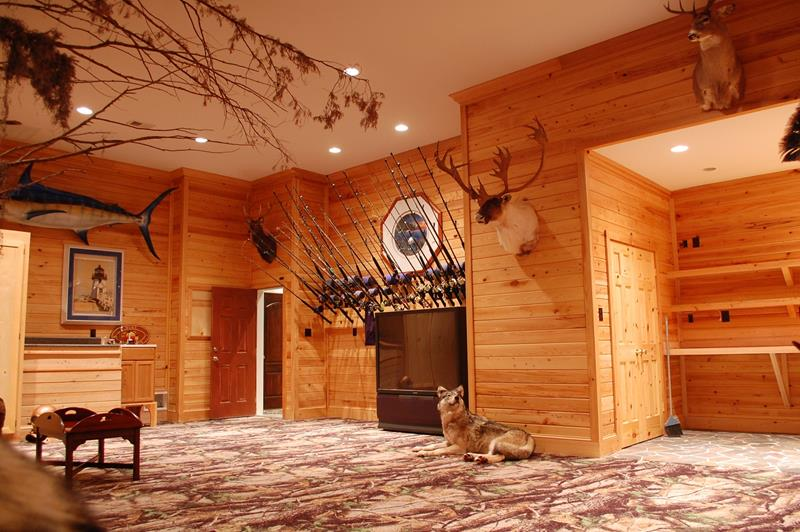 70 Awesome Man Caves In Finished Basements And Elsewhere-53