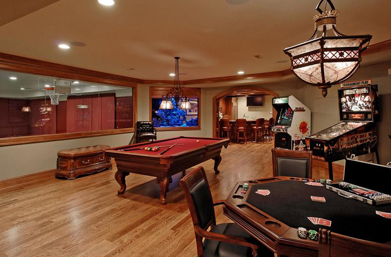70 Awesome Man Caves In Finished Basements And Elsewhere-54