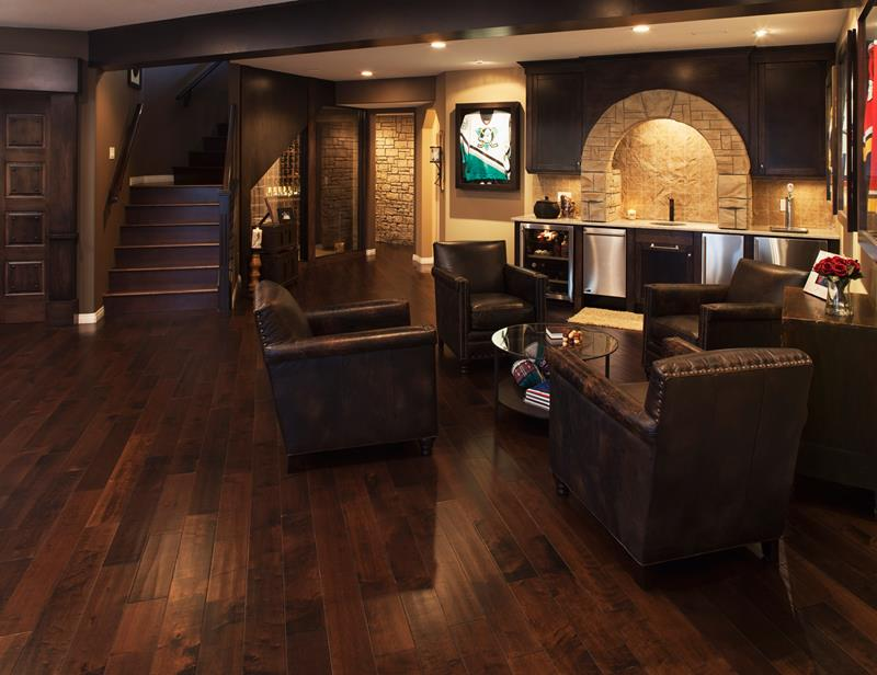 70 Awesome Man Caves In Finished Basements And Elsewhere-59