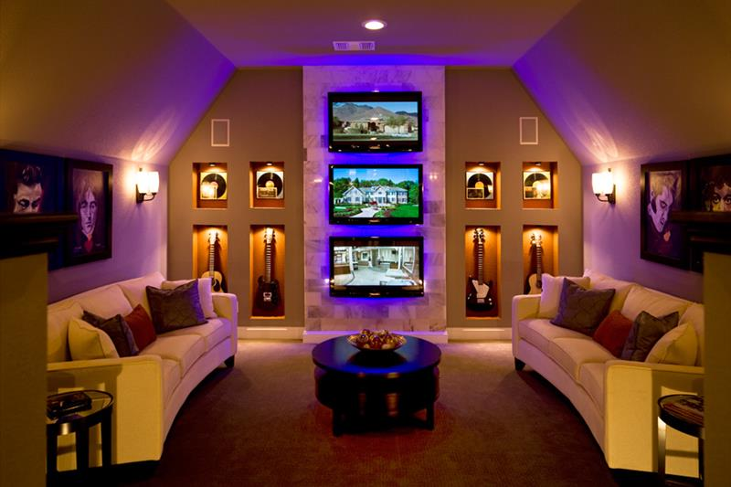 70 Awesome Man Caves In Finished Basements And Elsewhere-63