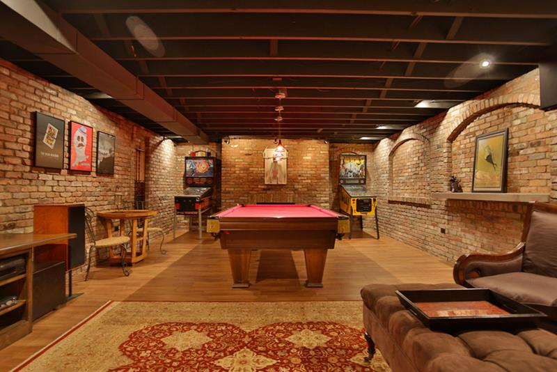 70 Awesome Man Caves In Finished Basements And Elsewhere-64