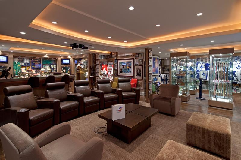 70 Awesome Man Caves In Finished Basements And Elsewhere-66