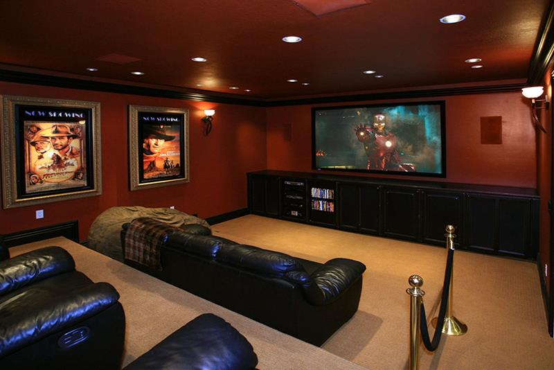 70 Awesome Man Caves In Finished Basements And Elsewhere-67