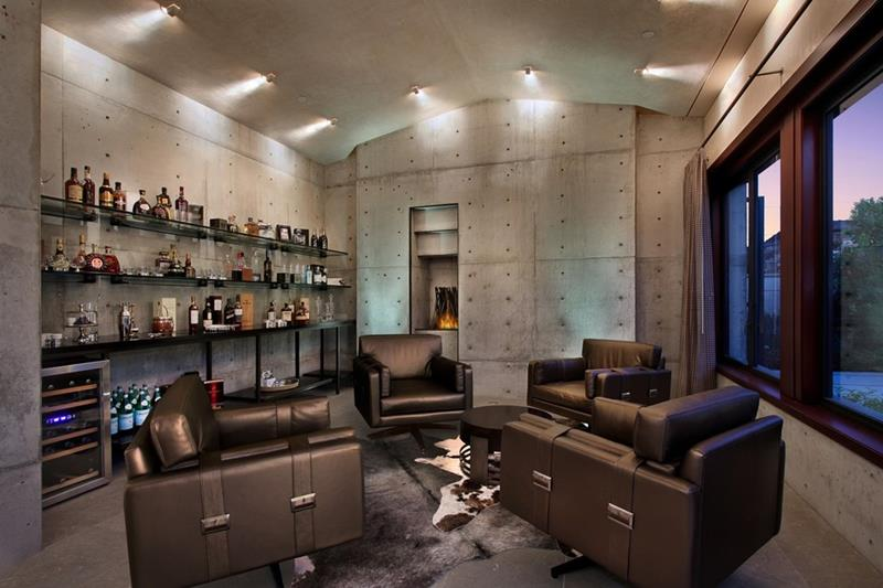 70 Awesome Man Caves In Finished Basements And Elsewhere-69