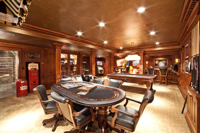 70 Awesome Man Caves In Finished Basements And Elsewhere-70