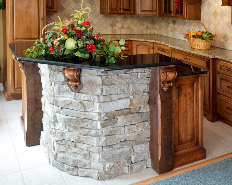 72 Luxurious Custom Kitchen Island Designs-10