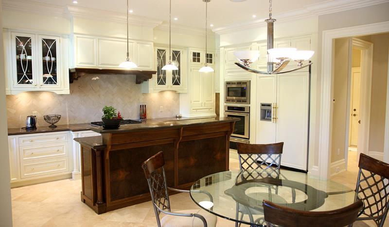 72 Luxurious Custom Kitchen Island Designs-12