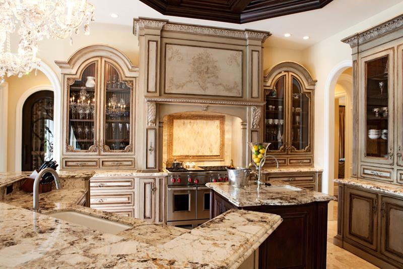 72 Luxurious Custom Kitchen Island Designs-14