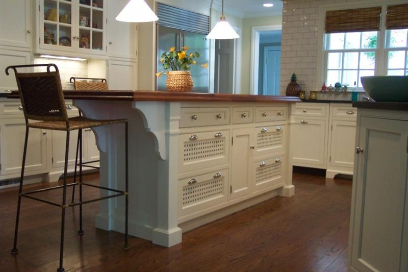 72 Luxurious Custom Kitchen Island Designs-15