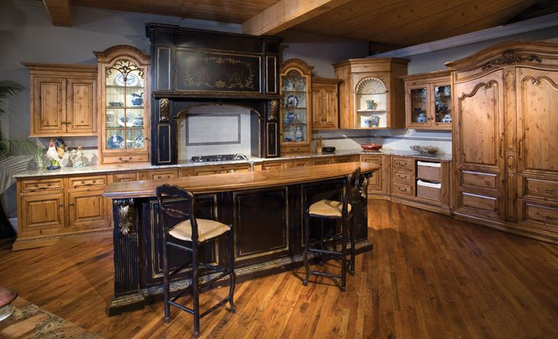 72 Luxurious Custom Kitchen Island Designs-22
