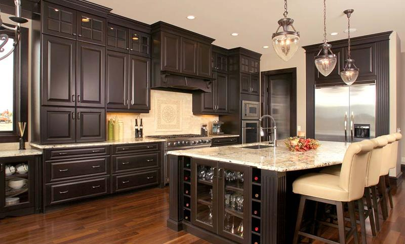 72 Luxurious Custom Kitchen Island Designs-36
