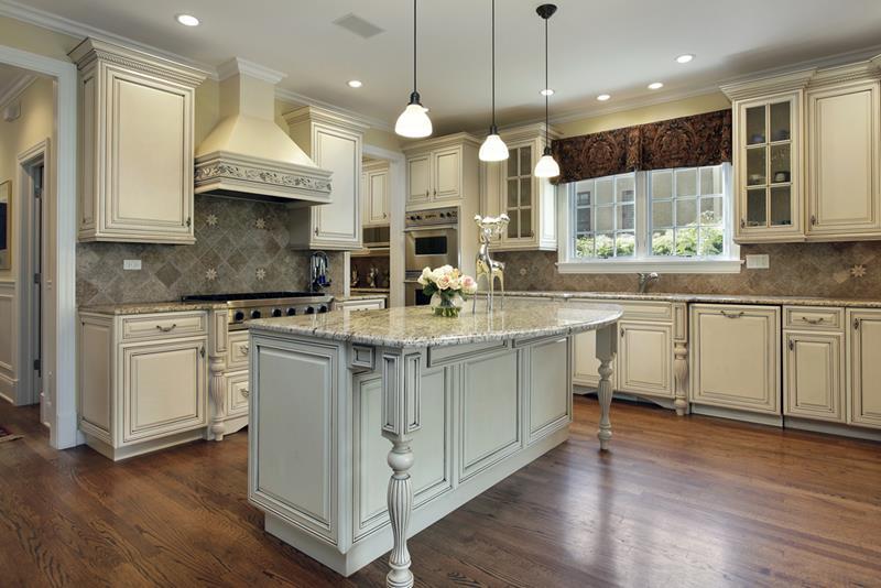 72 Luxurious Custom Kitchen Island Designs-41