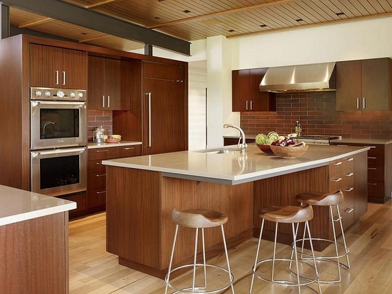 72 Luxurious Custom Kitchen Island Designs-43