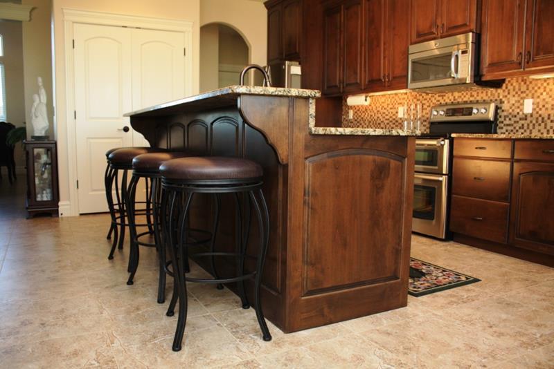 72 Luxurious Custom Kitchen Island Designs-46