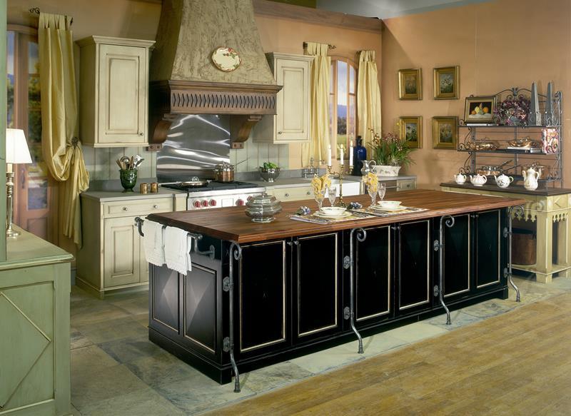 72 Luxurious Custom Kitchen Island Designs-51