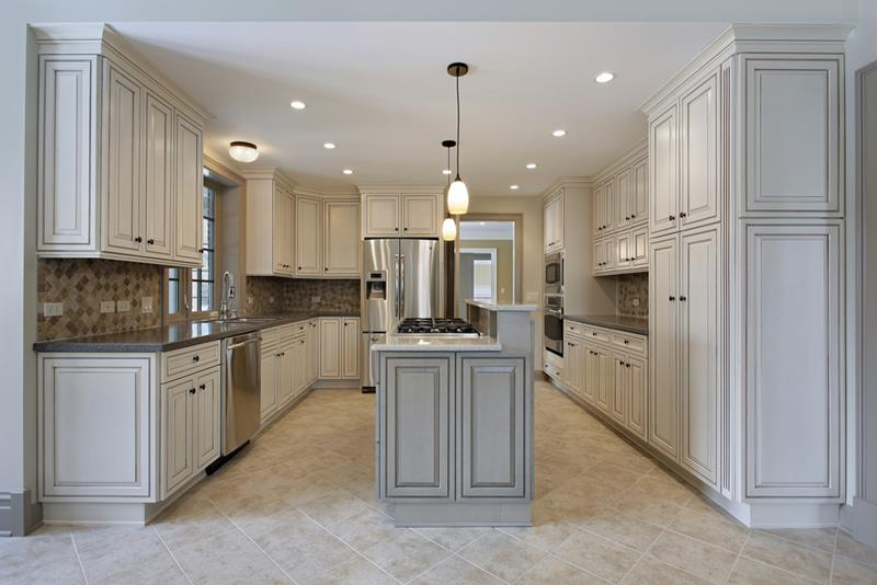 72 Luxurious Custom Kitchen Island Designs-54