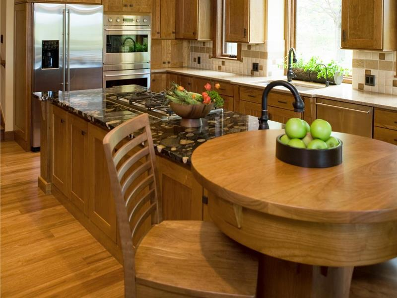72 Luxurious Custom Kitchen Island Designs-57