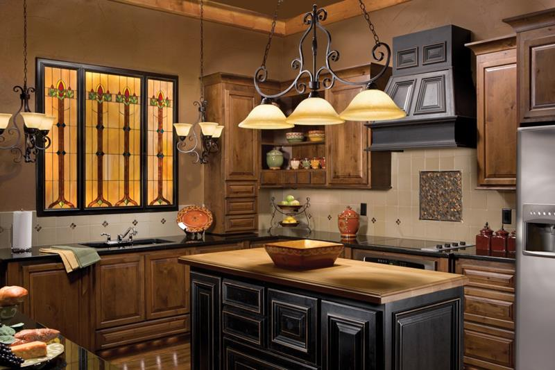 72 Luxurious Custom Kitchen Island Designs-58