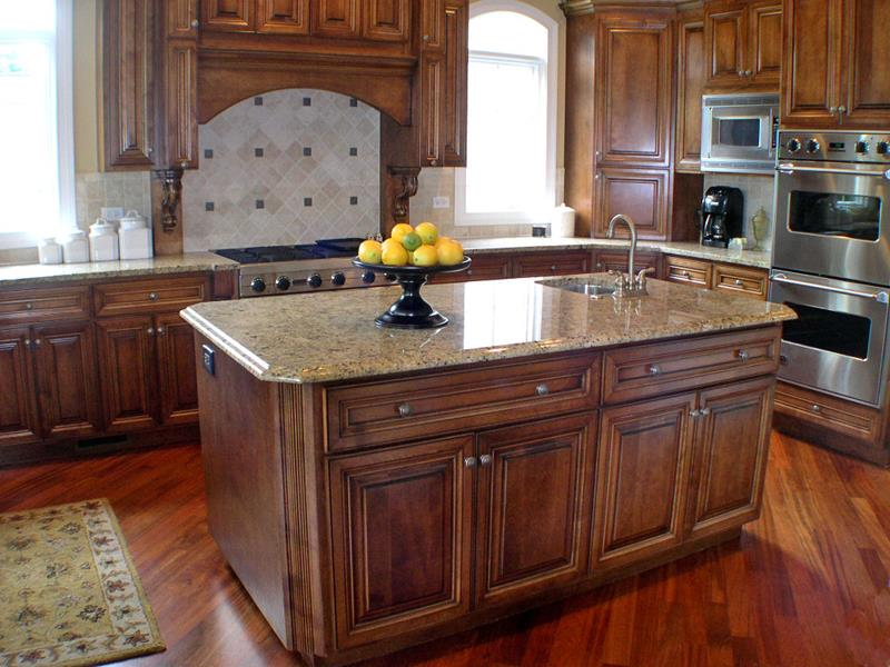 72 Luxurious Custom Kitchen Island Designs-6