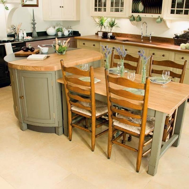 72 Luxurious Custom Kitchen Island Designs-61