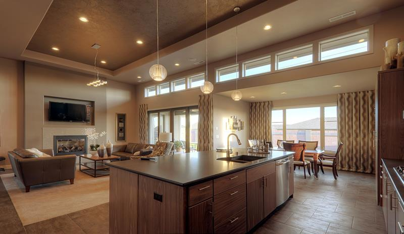 72 Luxurious Custom Kitchen Island Designs-63