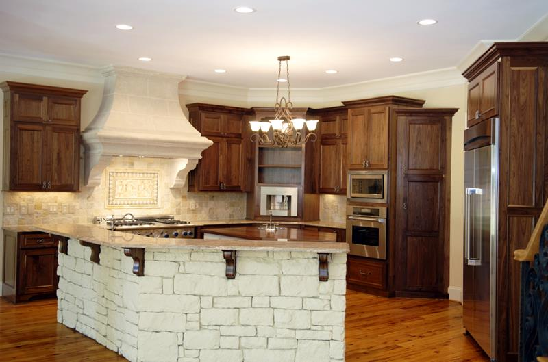 72 Luxurious Custom Kitchen Island Designs-66