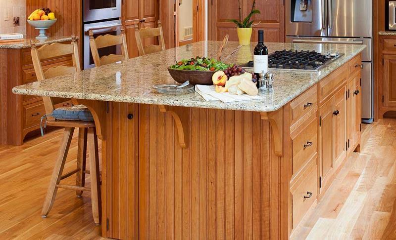 72 Luxurious Custom Kitchen Island Designs-8