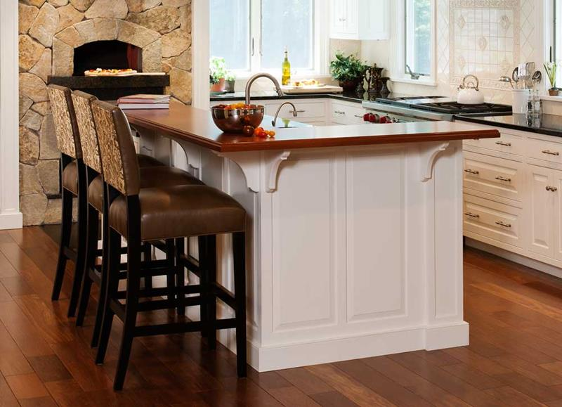 72 Luxurious Custom Kitchen Island Designs-title
