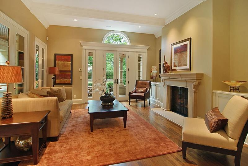 91 Designs For Casual and Formal Living Rooms-12
