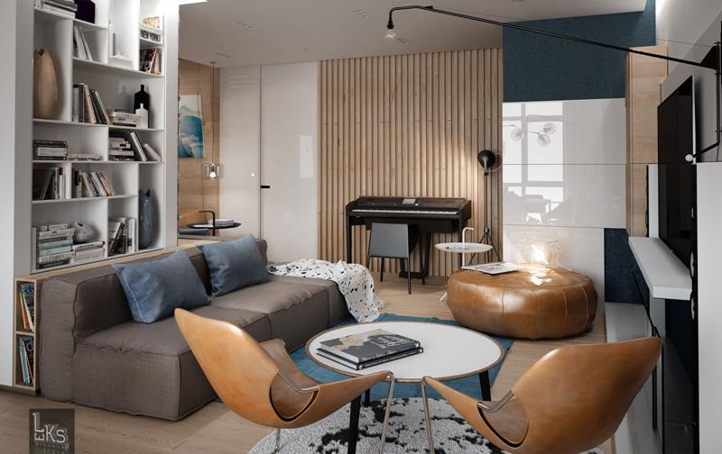 91 Designs For Casual and Formal Living Rooms-13