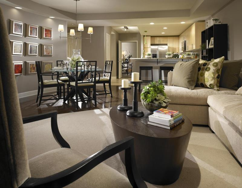 91 Designs For Casual and Formal Living Rooms-17